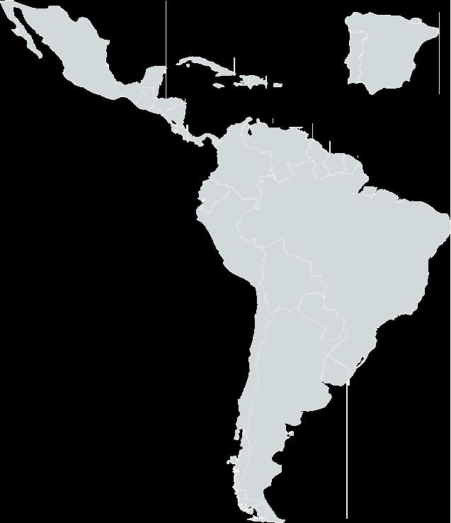 Mapa Iberoamérica