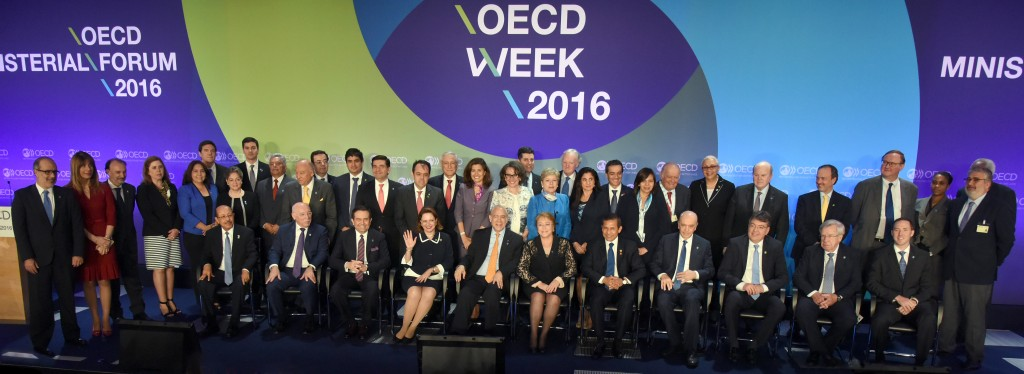 1st June 2016 - OECD MCM 2016: Ceremony For the Launch of the OECD Latin America and the Caribbean Regional Programme OECD, Paris, France. Photo: OECD/Michael Dean