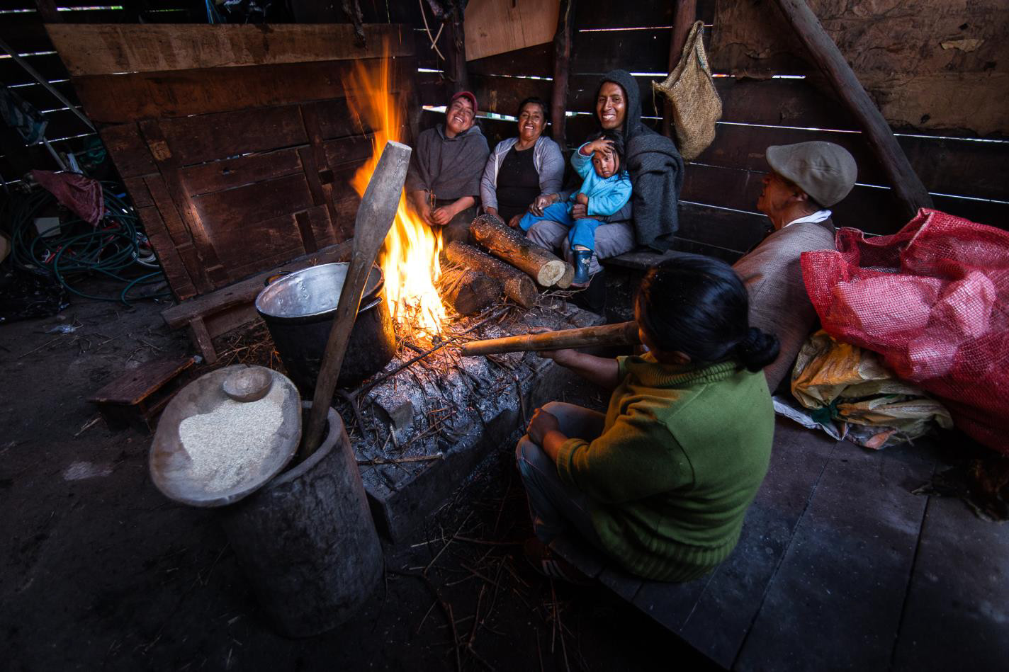 Al calor de la leña1-Kevin Oswaldo Molano Alarcón-Colombia