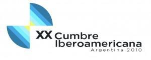 """logotipo XX Cumbre Iberoamericana Mar del Plata 2010 – """"Educación para la Inclusión Social"""""""