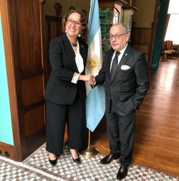 Bilateral con Jorge Faurie