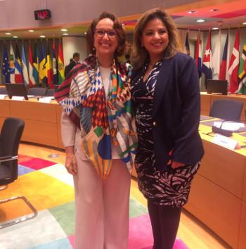 Bilateral con Sandra Jovel