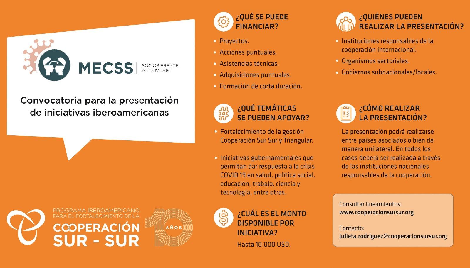 CooperaciónSurSur_detalles Socios frente al COVID