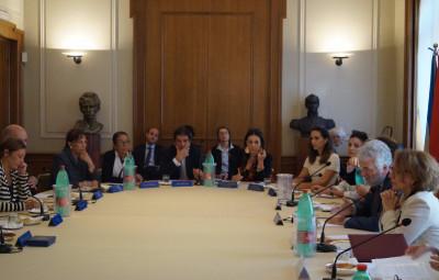 Embajadores Latinoamericanos en Roma