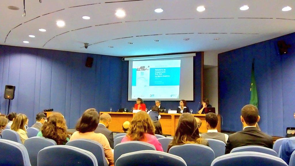 Presentación del Informe de Cooperación Sur-Sur en Iberoamérica