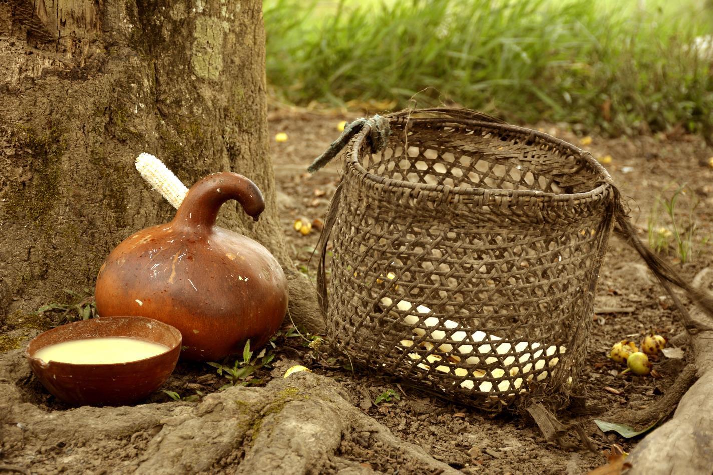 De nunkui a Luisa la tecnica tradicional de elaborar chicha de yuca5-Paola Alexandra Moreno Campoerde-Ecuador