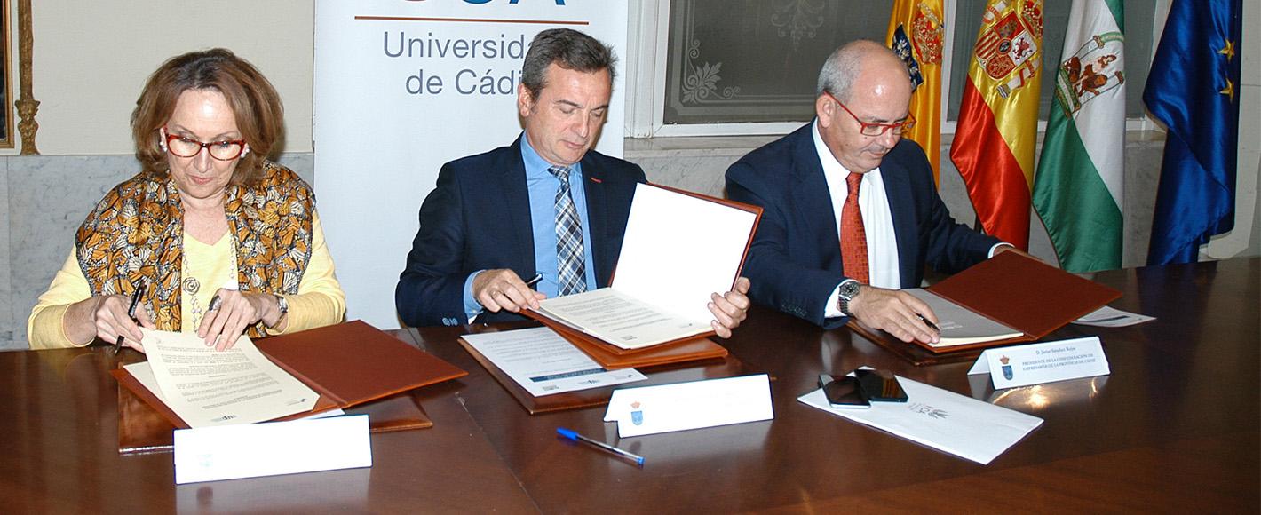 Firma en la UCA 2