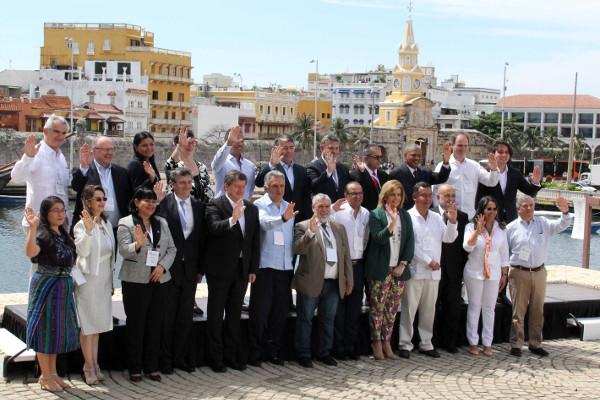 FotoFamilia-IX ConferenciaMinistrosTrabajoIberoamericanos