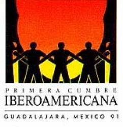 logotipo I Cumbre Iberoamericana Guadalajara (México) 1991