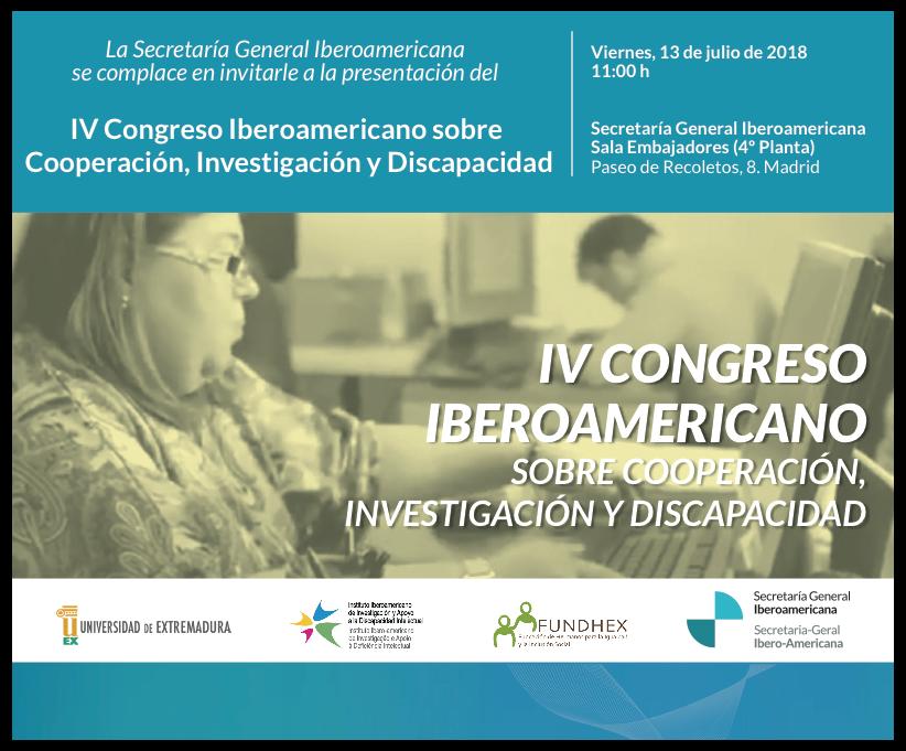 Presentación del IV Congreso Iberoamericano de Cooperación ...