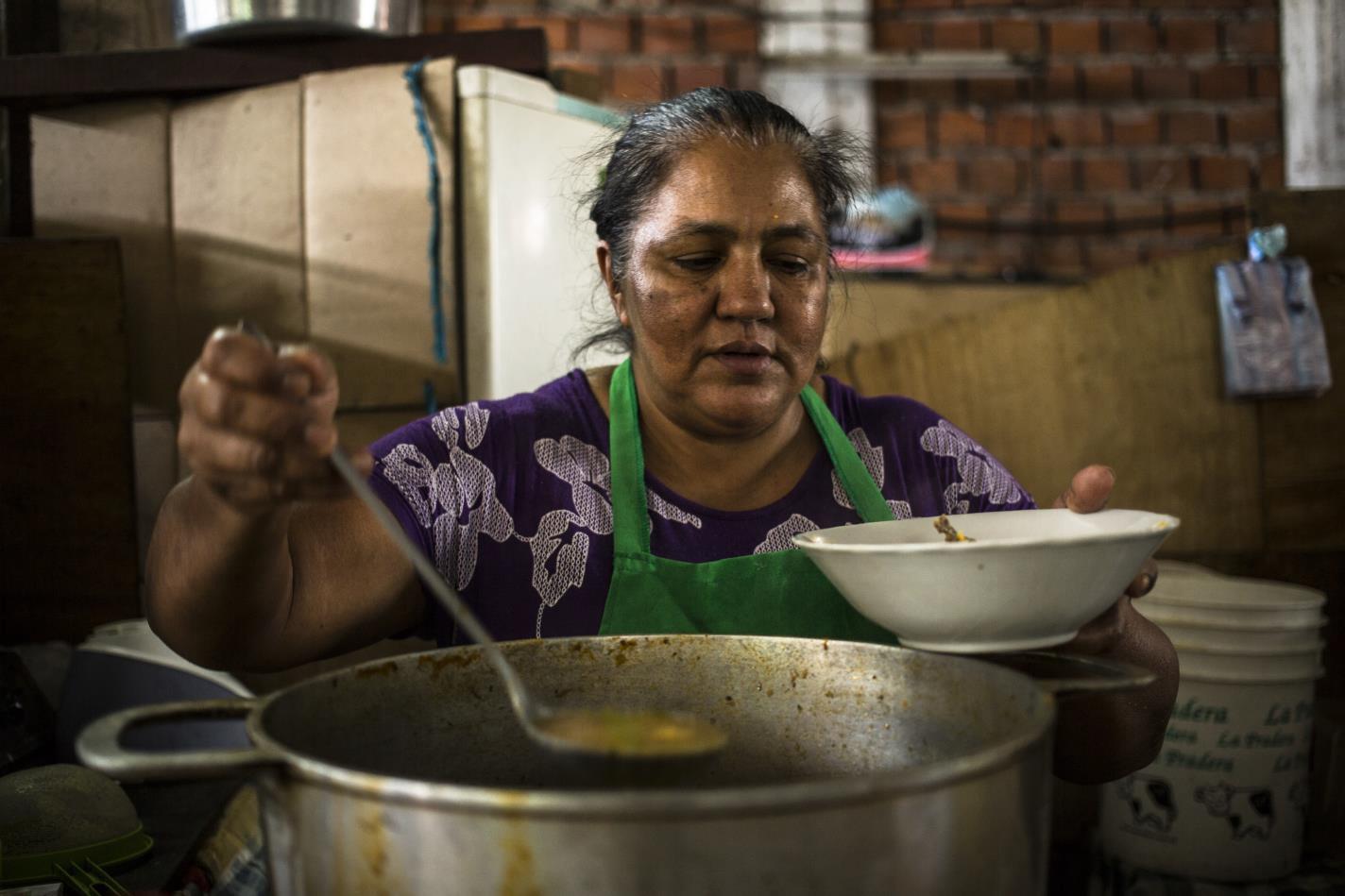 La chef del mercado-Santiago Andrés Carneri Tamaryn-Paraguay
