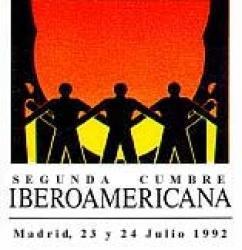 logotipo II Cumbre Iberoamericana Madrid 1992
