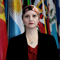 Maria Andrea Albán, secretaria para la cooperación iberoamericana