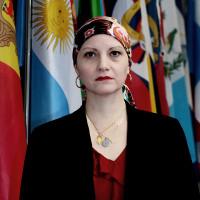 Maria Andrea Albán - secretaria para a coopeção