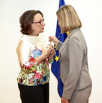 Bilateral con Federica Mogherini