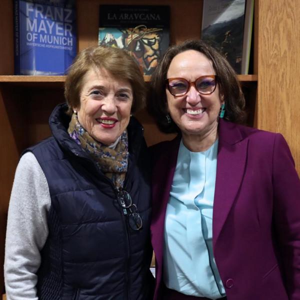 Ministra chilena de las Culturas, las Artes y el Patrimonio, Consuelo Valdez