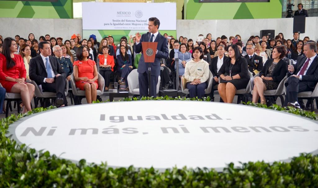 Peña Nieto_ Instalación del SNIMH