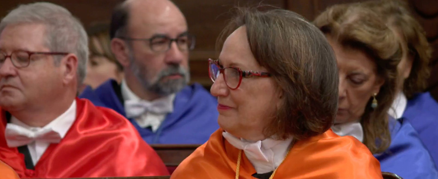 Doctorado Honoris Causa Universidad de Salamanca, rebeca Grynspan