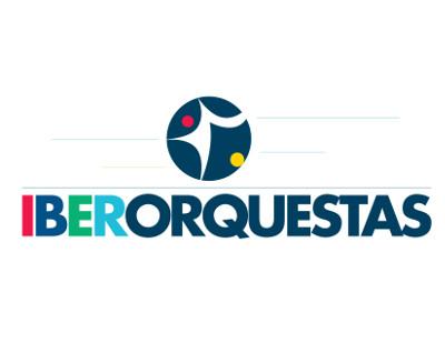 logotipo IBERORQUESTRAS JUVENIS Programa de Apoio à Constituição do Espaço Musical Ibero-Americano