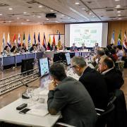 Comença la XVI trobada anual de la Xarxa Iberoamericana d'Oficines del Canvi Climàtic que acull avui i demà el Principat.Foto:SFGA/CEsteve